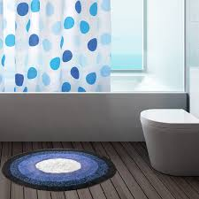 bath mats toilet cm cm modern  cotton round bath mats bathroom washable mat