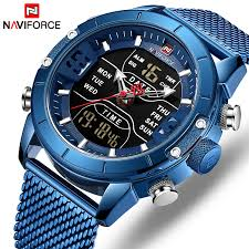 NAVIFORCE Men Watch <b>Top Luxury Brand</b> Man <b>Military</b> Sport ...