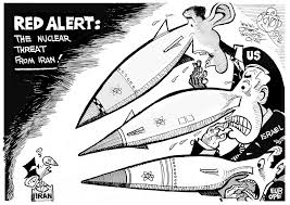 Image result for ISRAEL Nuclear Arsenal CARTOON