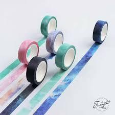 <b>1 Pcs</b> Fantasy Dream <b>Style</b> Washi Sticker Decor Roll Paper Masking ...