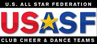 USASF Cheer Age Grid 2019-2020