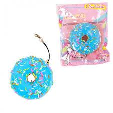 <b>Развивающая игрушка Junfa</b> антистресс <b>Мялка</b>-сквиши Пончик ...