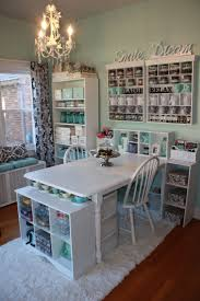 mint green scrap book room chic mint teal office