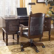 porter home office set with storage desk signature design by ashley furniture home office desk