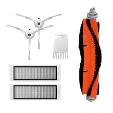 <b>Main Roller Side Brush</b> Washable Filter White Robot Vacuum ...