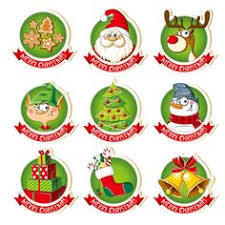 <b>ZhuoAng</b> Christmas badge Clear Stamps/Card Making Holiday ...