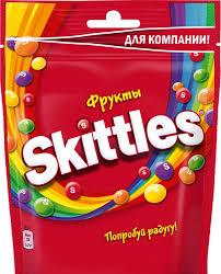 """<b>Жевательные конфеты</b> в глазури <b>Skittles</b> Pouch """"Фрукты"""", 165 г ..."""