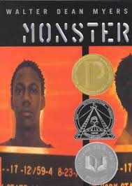 peer pressure   outsiders and tributesmonster  book  monster  author  walter dean myers