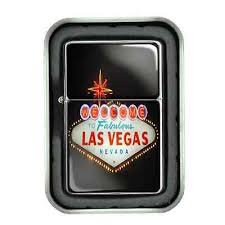 <b>Windproof</b> Oil Lighter & Gift Box Las Vegas <b>Design</b> 01 Vacation City ...