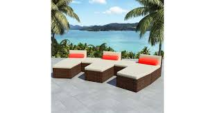 <b>8 Piece Garden</b> Lounge Set with Cushions Poly Rattan Brown - Matt ...