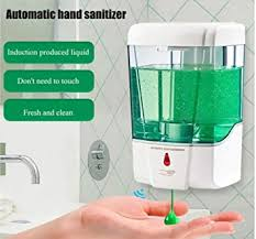 Drizzle Wall Mounted <b>Automatic</b> Touch less <b>Sensor Hand</b> Sanitizer ...