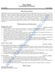 resume sample for underwriter position from real resume help ask our professional writers to customize a resume for you