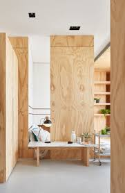 plywood decor located in taipei taiwan this compact family home works with only  square meters