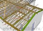Как сделать крышу к пристройке