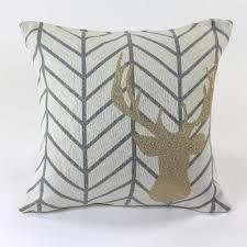 <b>Подушка с рисунком</b> golden deer из хлопка — купить по цене ...