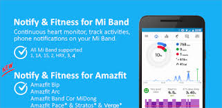Notify & Fitness for Mi Band – Applications sur Google Play