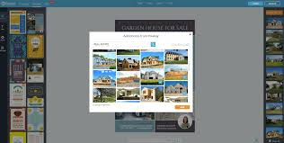 how to create real estate flyers fotojet fotojet add images add your listing information