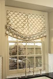 cape curtains kitchen roman shade