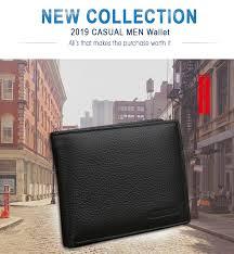 <b>X.D.BOLO</b> 2019 New <b>Men Wallets</b> Genuine <b>Leather Purse Mens</b> ...