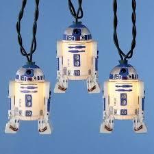 R2D2 Christmas <b>Lights Star Wars</b> Strand <b>String</b> R2 D2 Xmas Movie ...