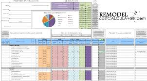 remodel cost spreadsheet remodel cost estimating software for remodel cost spreadsheet remodel cost estimating software for bathroom remodel spreadsheet tsc