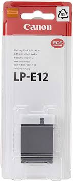 <b>Canon LP-E12</b> Battery Pack for EOS M and 100D: Amazon.co.uk ...