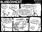 blandishment