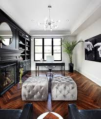 view in gallery chic home office with a hint of hollywood regency from the design co black bedroom furniture hint
