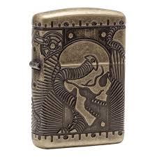 <b>Зажигалка ZIPPO Armor</b>™ с покрытием Antique Brass, медная ...