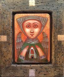 Ручная работа, handmade | <b>Картины</b> с ангелом, Краска, Живопись