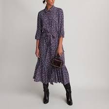 <b>Платье</b>-рубашка <b>прямое</b>, рукава по локоть, с принтом рисунок ...