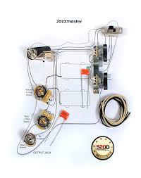 fender vintage jazzmaster wiring kit pots switch slider reverb Wiring Diagram Jazzmaster Free Picture fender vintage jazzmaster wiring kit pots switch slider caps bracket diagram Jazzmaster Schematic