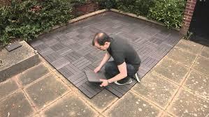 patio pavers existing concrete