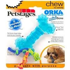 "<b>Игрушка</b> для собак <b>Petstages Mini</b> ""Орка косточка"".размер 0.165 x ..."
