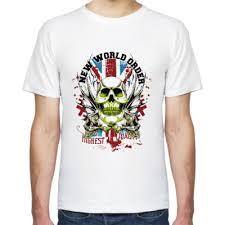 <b>Футболка New world order</b> купить на Printdirect.ru | 6883052-25
