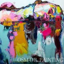 High quality <b>Handpainted Francoise</b> Nielly cooling face palette knife ...