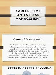 career time and stress management stress biology