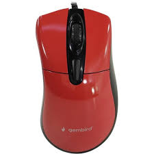 Проводная <b>Мышь Gembird MOP-415-R Red</b> — купить, цена и ...