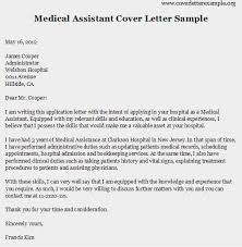 medical assistant cover letter samples professional resume format my document blog sample assistant resume cover letter