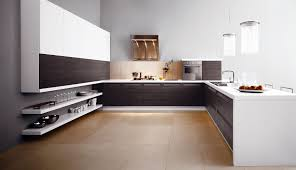 Concrete Floor Kitchen White Contemporary Kitchen Floors Remodel Ideas What To Use Clean