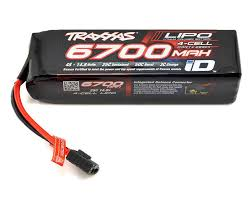 <b>Аккумулятор Traxxas</b> Power Cell 4S LiPo <b>Battery</b> 14.8V 6700mAh ...