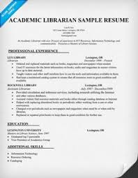 example school librarian resume   free sample   library thing     librarian resume sample  resumecompanion com   books