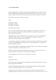 finance cover letter sample experience resumes finance cover letter sample