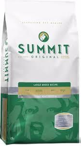 <b>Summit</b> Holistic <b>Original</b> Three Meat, Large Breed Recipe 10382 ...