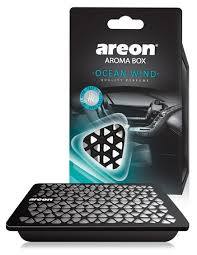 <b>AREON Ароматизатор для автомобиля</b> Box Ocean Wind ABC03 70 г
