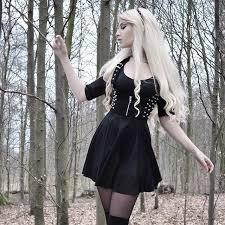 <b>Dancing</b> around <b>the woods</b> in @blackmilkclothing's Evil ...