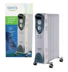 Радиатор масляный ОАЗИС <b>UT</b>-<b>10</b> 1кВт 5 секций,площадь ...