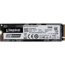 Накопитель SSD M.2 <b>Kingston</b> 500Gb <b>KC2000</b> Series ...