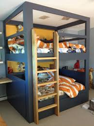 awesome bunk beds for kids 8 plans new on exterior cool boys excerpt boy be biege study twin kids study room