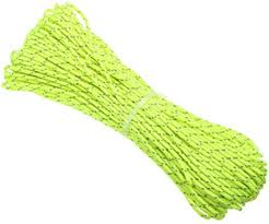 Leoie <b>20M</b>/Roll <b>Tent Reflective Line</b> Fluorescent Nylon Luminous ...